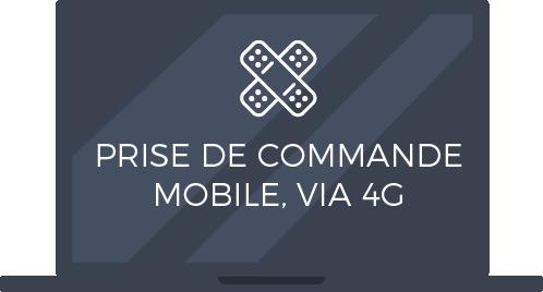 Prise de commande mobile